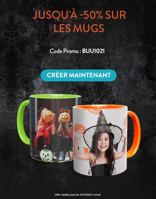 Mugs Jusqu'à -50%