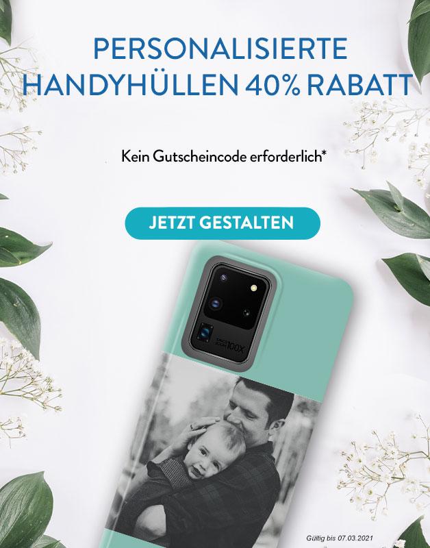 40% Rabatt auf Handyhuellen
