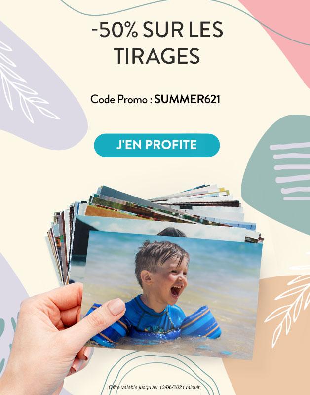 Tirages Photo -50%