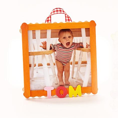 Créez des cadres photo avec vos enfants !