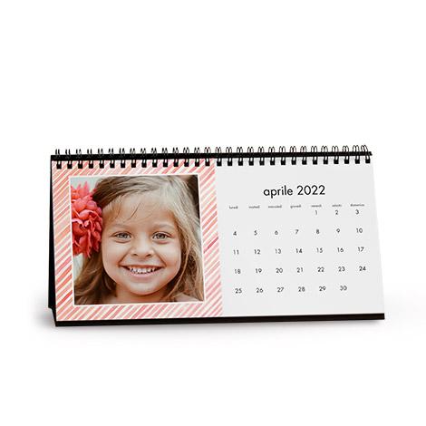 Calendario da tavolo personalizzato con foto