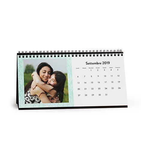 Foto Calendario da Tavolo