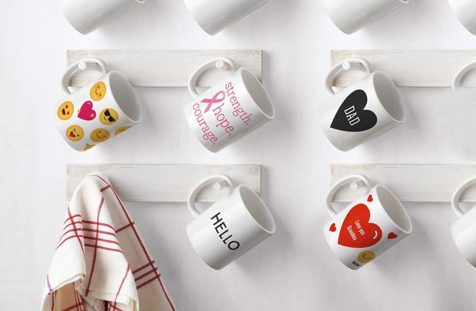 Crea una tazza personalizzata