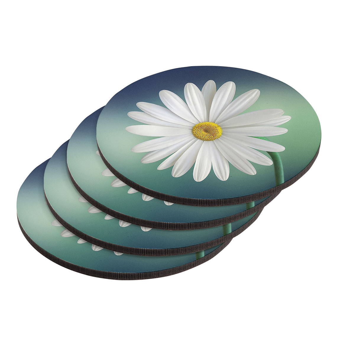 Round Coasters - Set of 4 (same image)