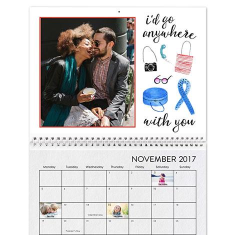 Photo Calendars | Desktop Calendars | Wall Calendars | Custom ...