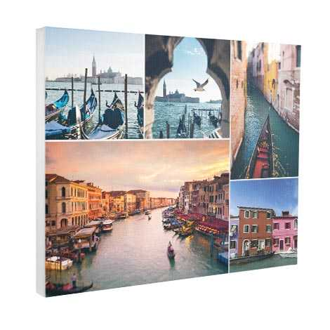 Classic Collage Canvas