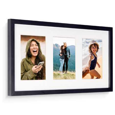 28x53cm Framed Print (3x Images)