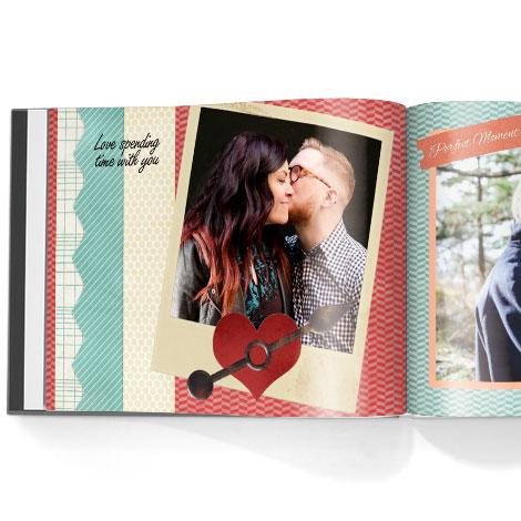 Photo book. Family time theme