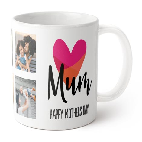 Coffee Mug (Heart Mum / Nana)
