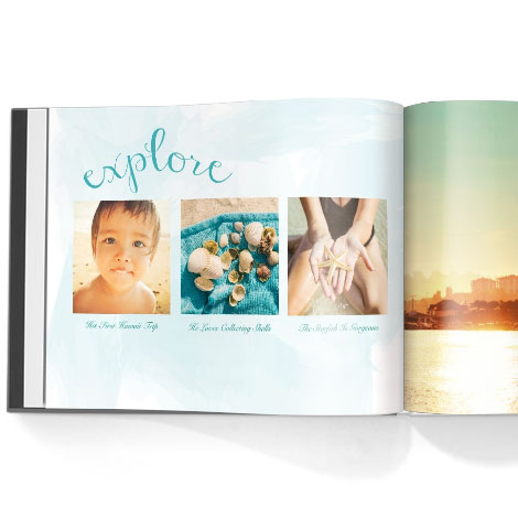 Photo book. Aloha theme
