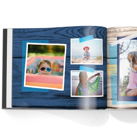 Photo book. Life is an adventure theme