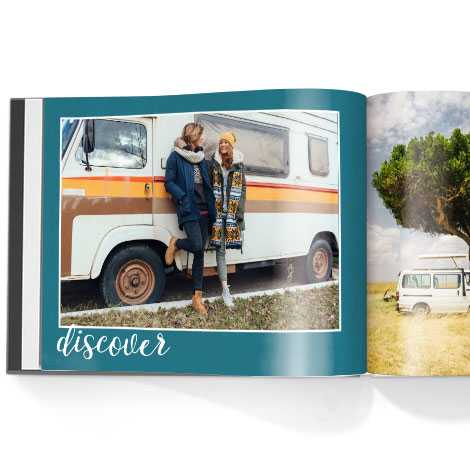 Photo book.Wanderlust theme