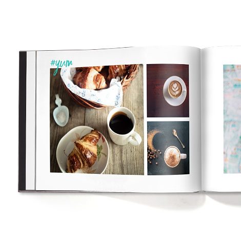 INSTAGRAM an image of a book with food