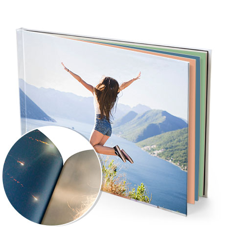 Hardcover (glossy pages) Landscape from $44.95