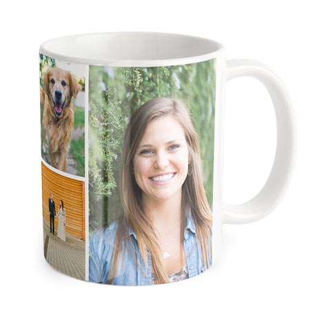 Classic Collage Mug (Full wrap image)