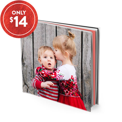 "20x20cm (8x8"") Softcover Book"