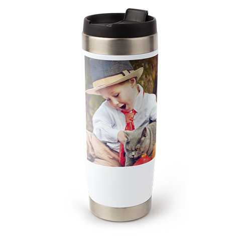 Travel Coffee Mug, 15 oz.