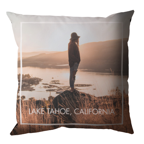 Double-sided Custom Throw Pillow