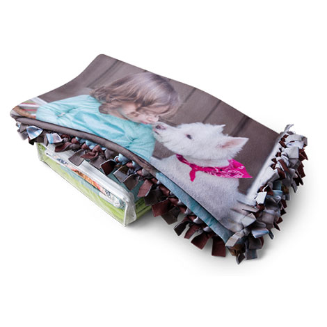 All-Tied Up™ Photo Blanket