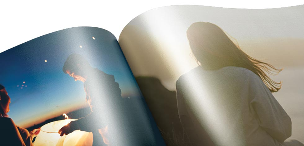 Premium Hardcover Books (Metallic pages)