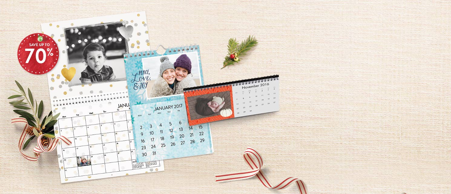 Up to 70% off calendars : 70% off A4 Classic Calendar. Up to 50% off all Calendars.