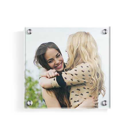 Square Acrylic Photo Panel