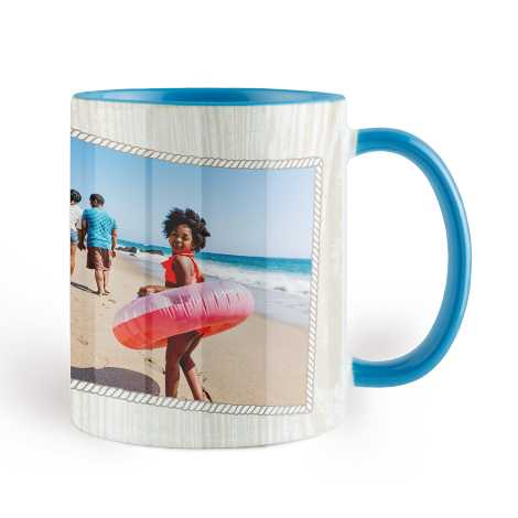 Icon Sky Blue Colorful Mug