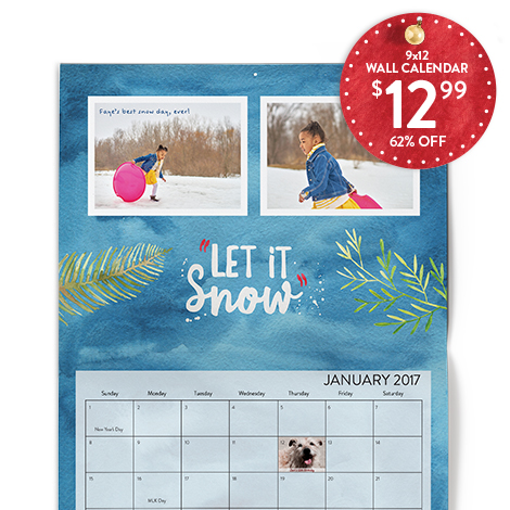 NEW! 9x12 STATIONERY WALL CALENDAR