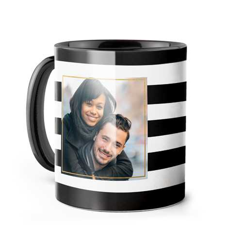 Photo Coffee Mug, 11oz., Black