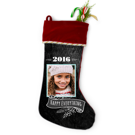 NEW! CHRISTMAS STOCKING
