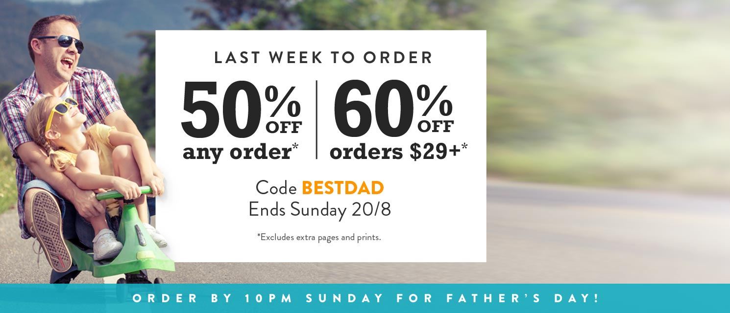 You're the best, Dad : We love your jokes, even the 'Dad' ones. Save up to 60% off* with BESTDAD