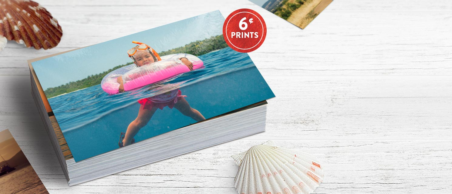 As seen on TV : Free your photos with 10x15cm standard prints for only 6c each. Use code 6CPRINTSOffer ends 30/1