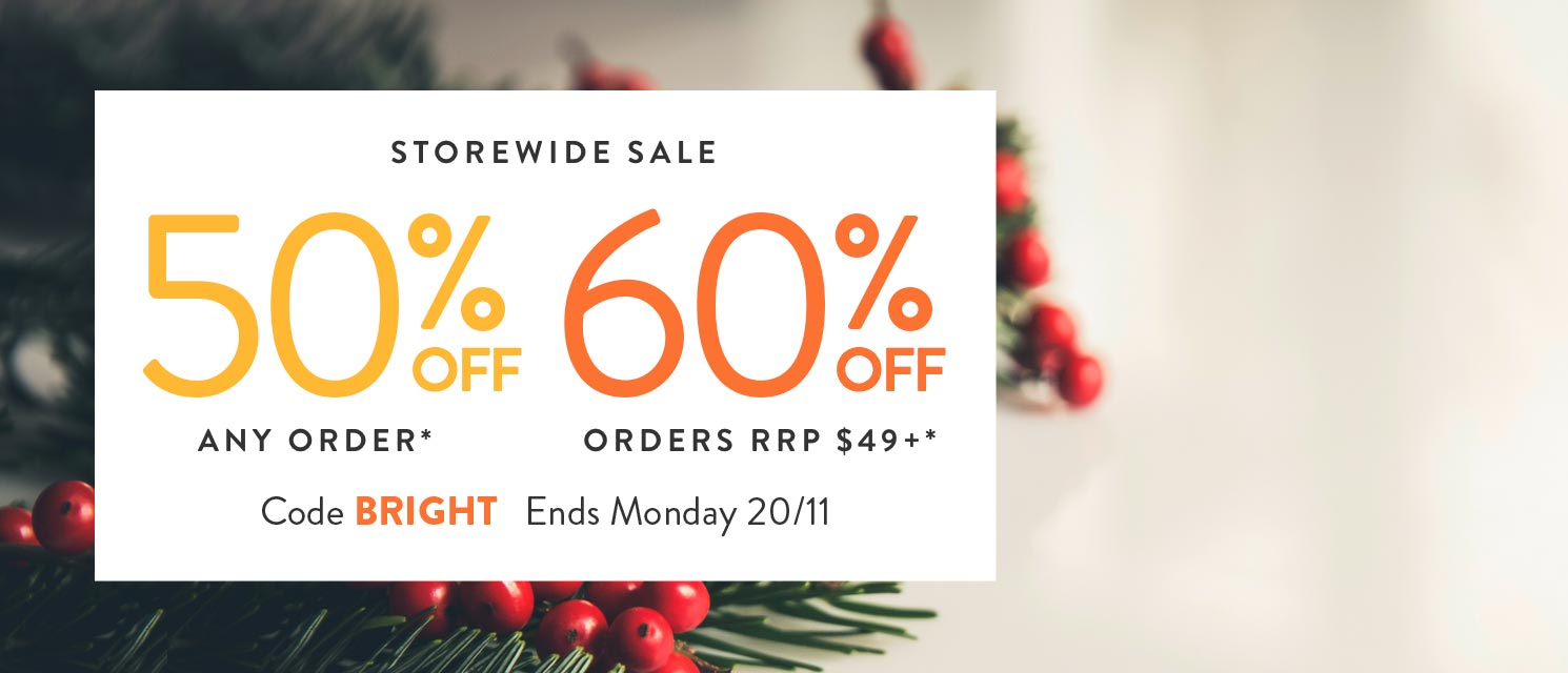 Bright & MerrySTOREWIDE SALE : Use code BRIGHT to get up to60% off across the store.*excludes extra pages and printsEnds 20/11