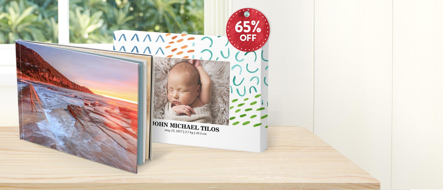 The Ultimate Gift : Use code ULTGIFT65 andsave 65% on all hardcover booksand rectangle canvas prints.*excludes extra pagesEnds 20/11