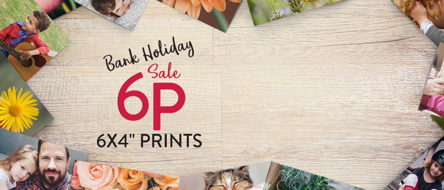 "Snap Happy : Enjoy great saving's on our 6x4"" Prints now just 6p each. Use code 6P517 by 31/5."