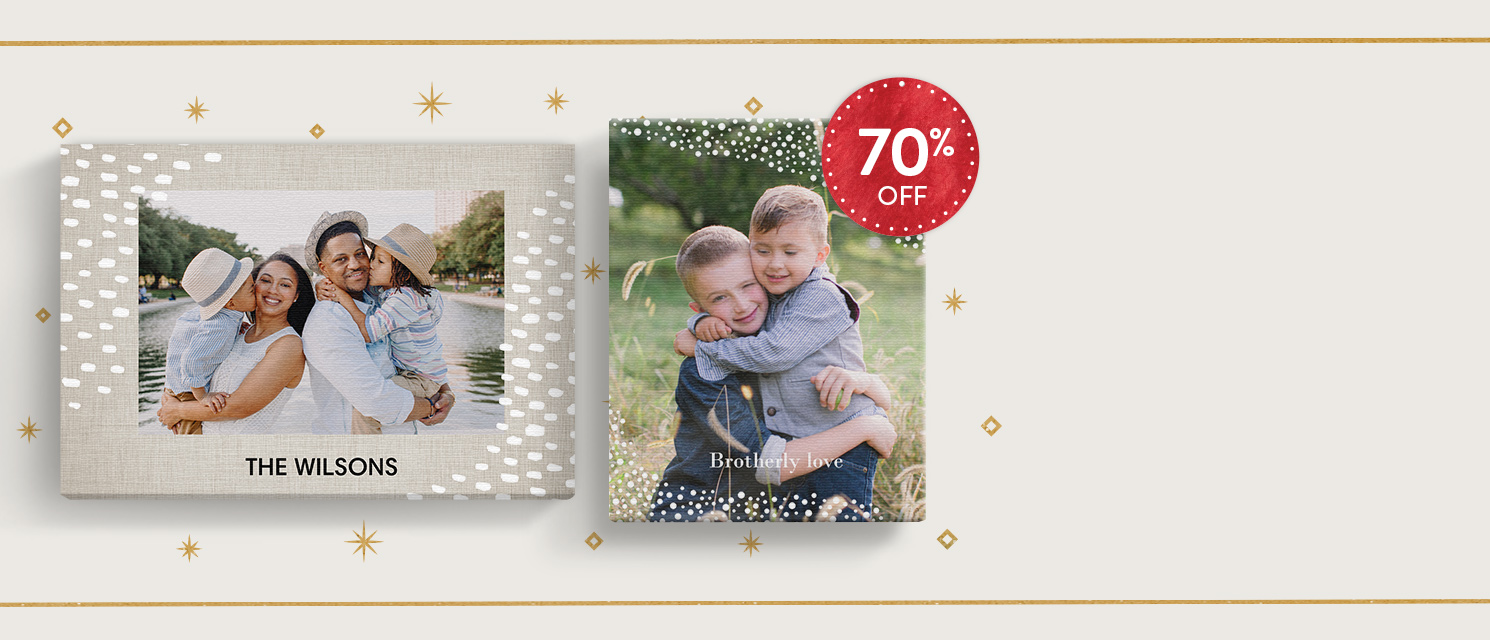 Canvas Deals : Enjoy 70% OFF selected Slim Canvases. Includes 16x12'', 20x16'' and 24x16'' sizes only.Use code SLIM1117 by 27/11.