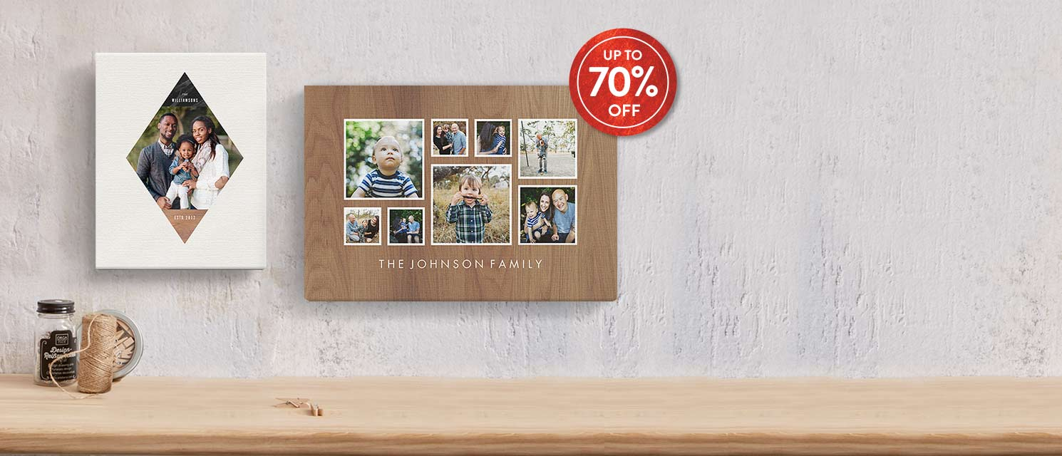 Big savings on Slim Canvas : Add the warmth of autumn to your walls with favorite moments, places, and faces.Use code 70SLIM1017 by 29/10.