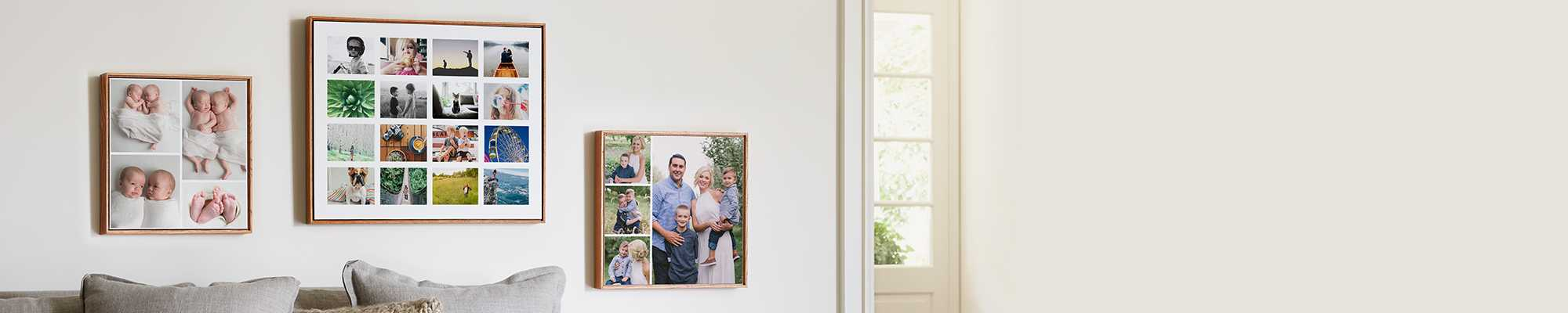 Collage Photo Gifts Make every photo count and create amazing collage prints, blankets, canvas, and more!