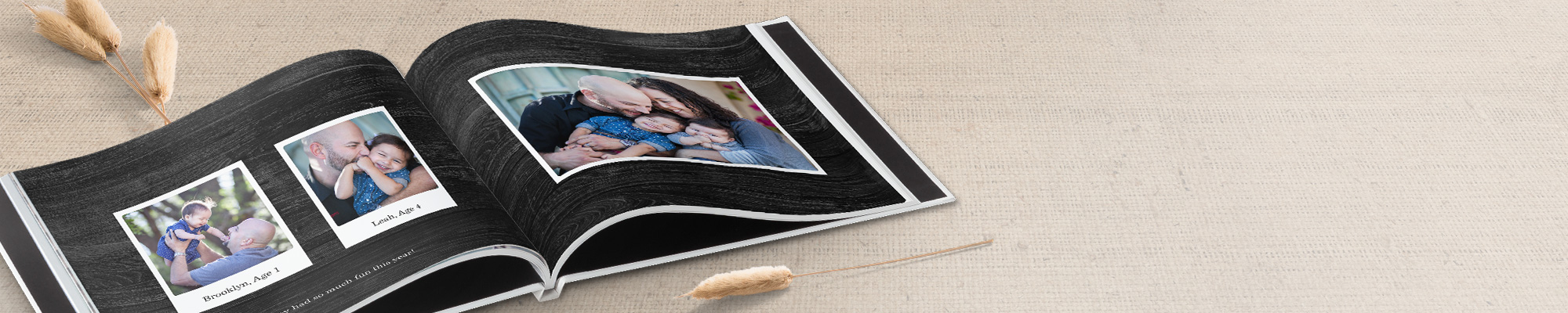 Photo Books Make your memories last a lifetime with our customizable photo books.