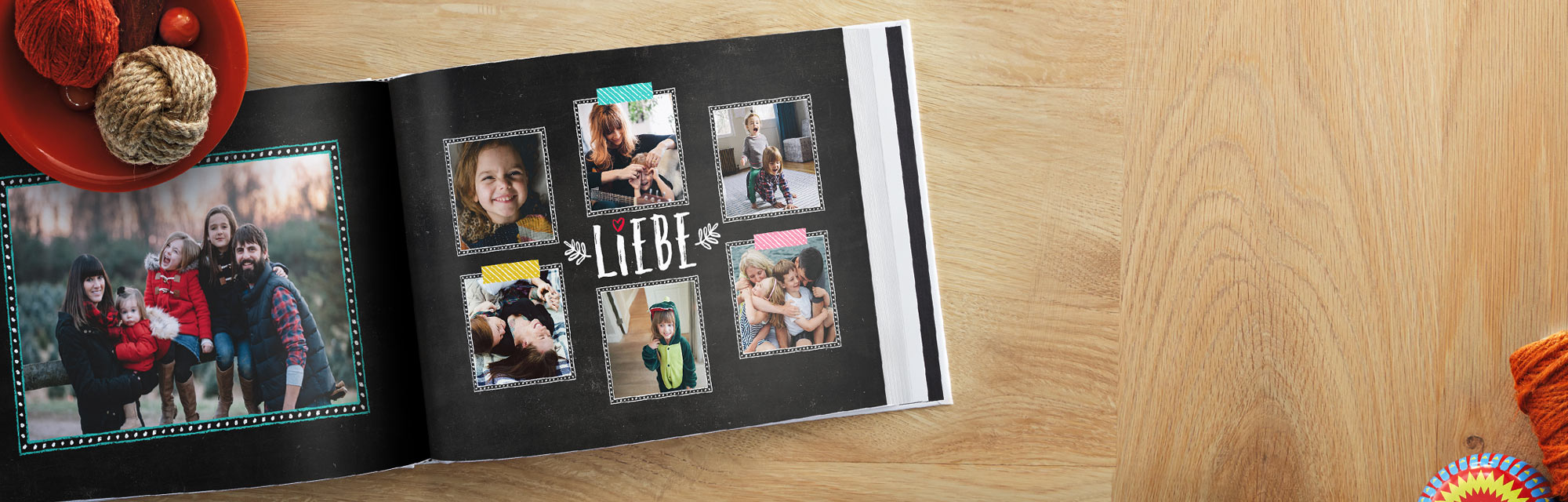 Zauberhaft : Die besonderen Momente des Lebens in einem Fotobuch verewigen