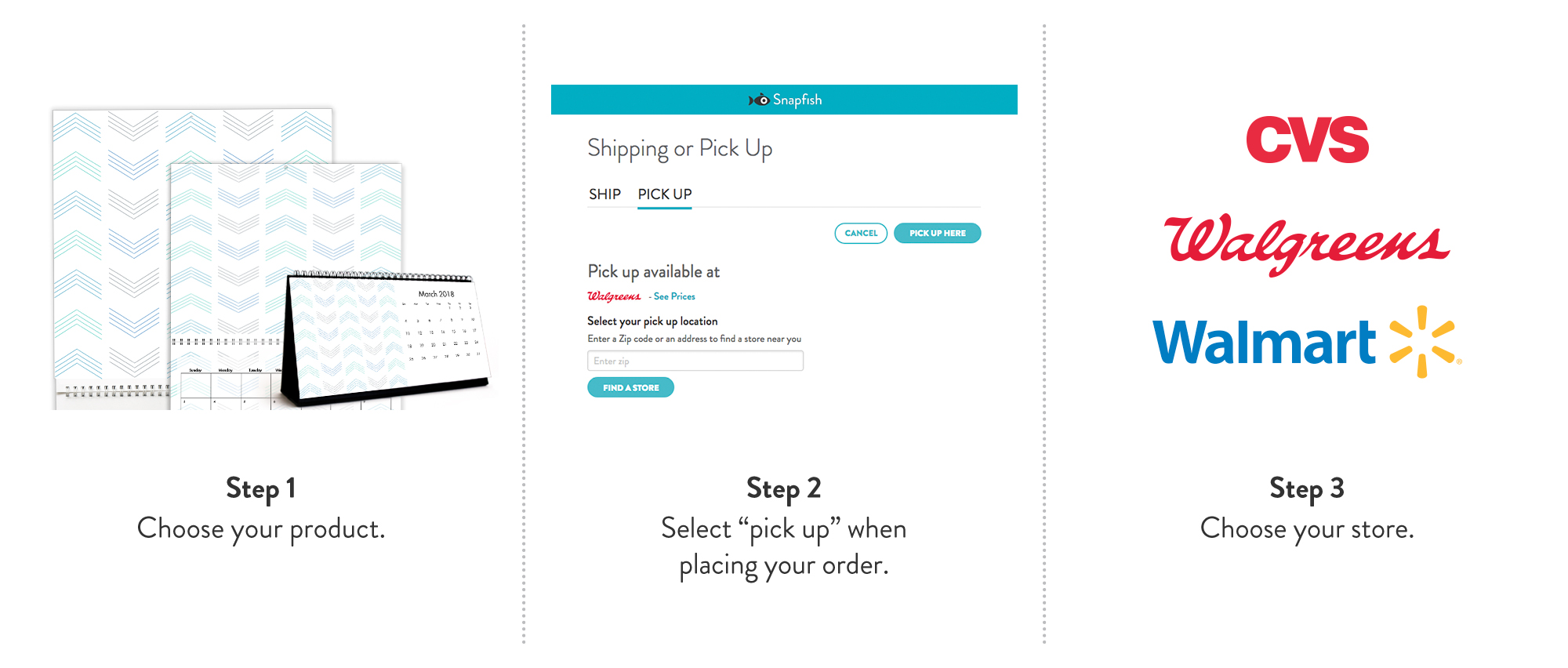 Pick up in Store | Retail Pick up Snapfish Products | Snapfish