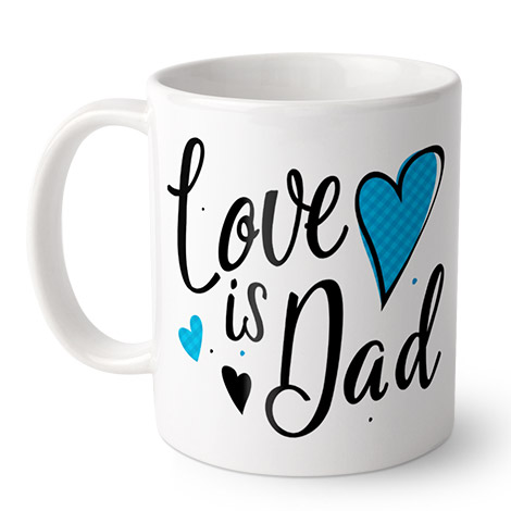 Coffee Mug (Love is Dad)