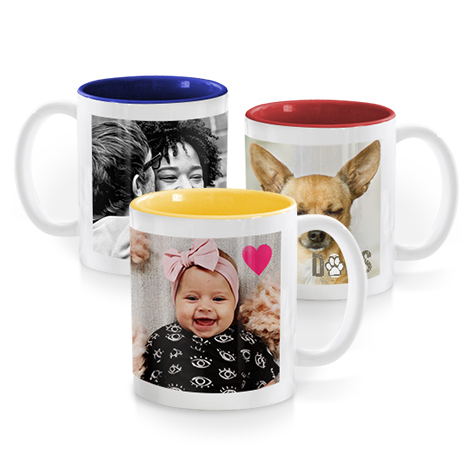 Mug photo couleur