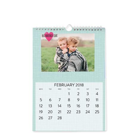 Personalised Desk Wall Calendars – Photo Calendar