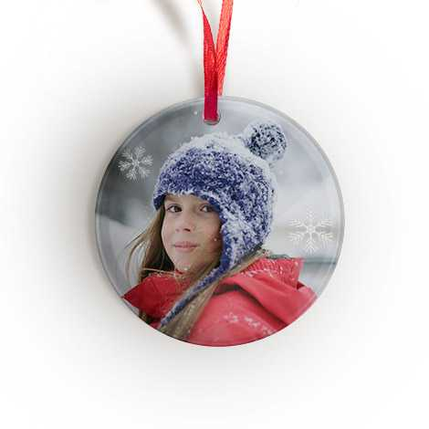 Personalised Round Ornament