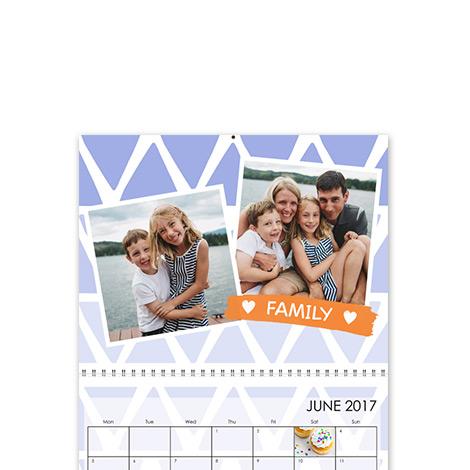 L Wall Calendar