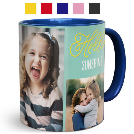 Coloured Photo Mugs