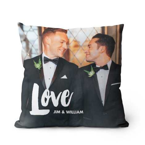 LoveScript Pillow