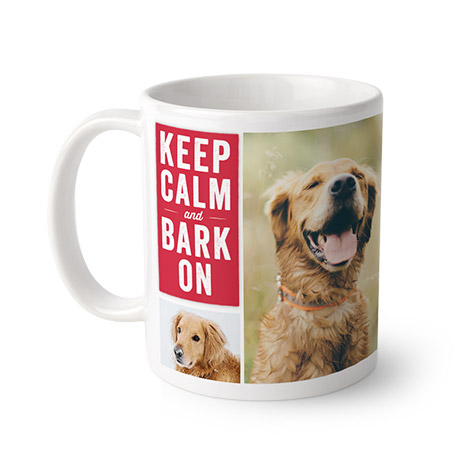 Share your pet's enthusiasm for early mornings with personalised mugs. Add your pet's pictures and choose from dozens of pet-themed designs and ...