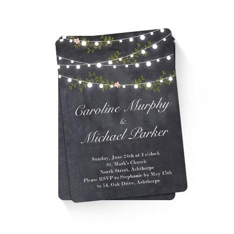Garden Lights Wedding
